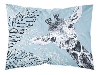 Webware Baumwolle PANEL 30 cm x 40 cm - Dschungel-Baby-Giraffe