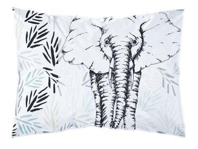 Webware Baumwolle PANEL 30 cm x 40 cm - Dschungel-Elefant