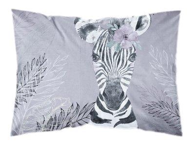 Webware Baumwolle PANEL 30 cm x 40 cm - Dschungel-Zebra