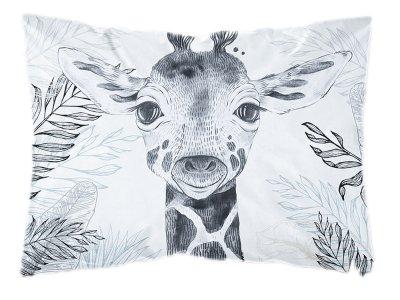 Webware Baumwolle PANEL 30 cm x 40 cm - Dschungel-Giraffe