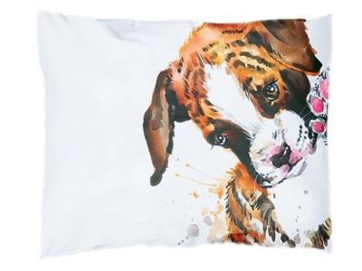 Webware Baumwolle PANEL 30 cm x 40 cm - Welpe / Hund