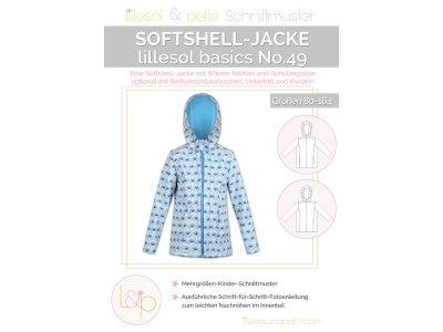 Papierschnittmuster lillesol basics No.49 Softshell-Jacke