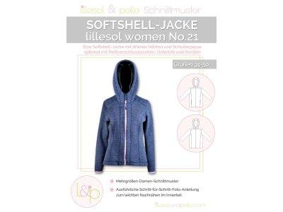Papierschnittmuster lillesol women No.21 Softshell-Jacke