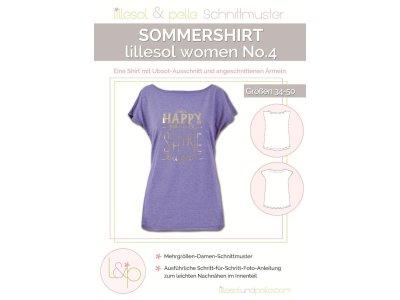Papierschnittmuster lillesol women No.4 Sommershirt