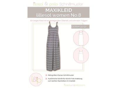 Papierschnittmuster lillesol women No. 8 Maxikleid