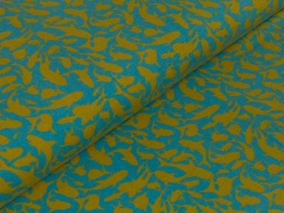 Jersey - Beach Sharks - by Mies&Moos - blau/grün