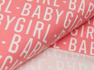 Sommer-Sweat - Baby Girl - rosa/weiß