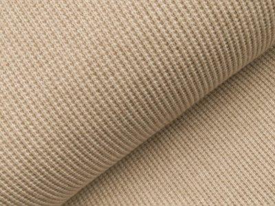 Viskose Rippstrick Jacquard-Jersey - beige