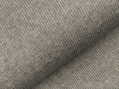 Viskose Rippstrick Jacquard-Jersey - grau
