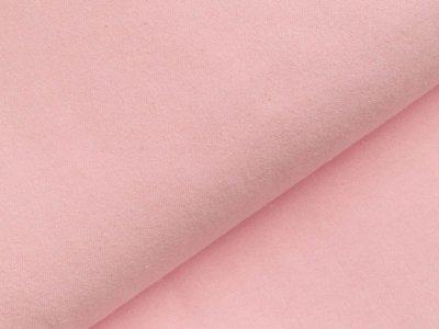 Flanell Baumwollstoff  - uni rosa