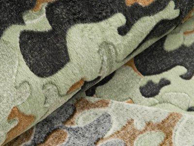 Jacquard Wellneesfleece - Camouflage - khaki