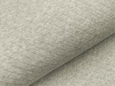 Jersey Rautenstepper - meliert grau