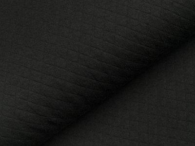 Jersey Rautenstepper - uni schwarz