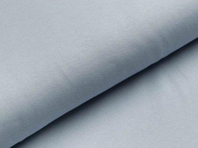 Interlock - uni zartes blau