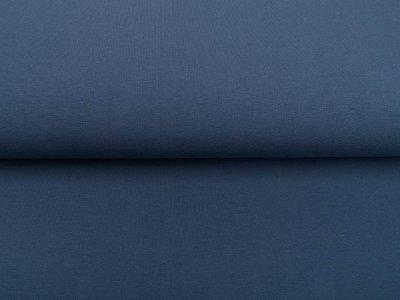 Sweat French Terry Organic Cotton - uni jeansblau