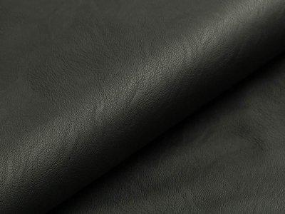 Elastisches Kunstleder - schwarz