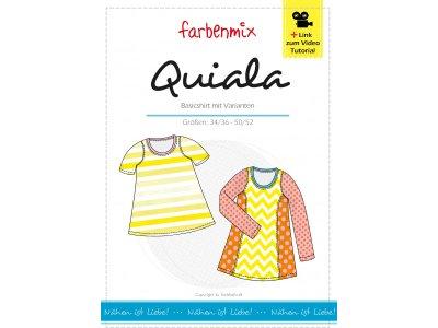Papierschnittmuster Farbenmix QUIALA Damenshirt