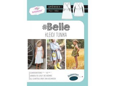 Papierschnittmuster Blaubeerstern RosaRosa Belle KLEID/TUNIKA - Mädchen