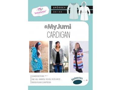 Papierschnittmuster Blaubeerstern RosaRosa My Jumi-CARDIGAN - Damen