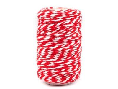 Bindfaden gefärbt Ø1,5 mm rot