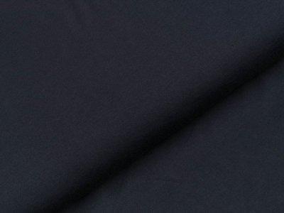 Jersey - uni nachtblau