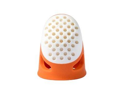 Prym Fingerhut ergonomics Größe S - orange