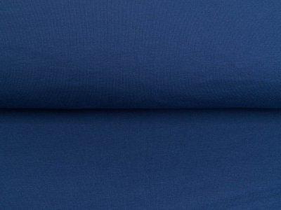 Leicht angerauter Sweat Sanetta - uni jeansblau