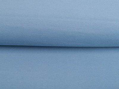 Leicht angerauter Sweat Sanetta - uni helles jeansblau