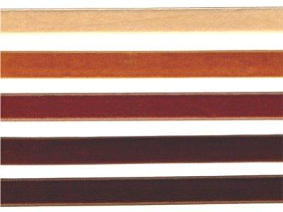 16 mm breites Samtband senf