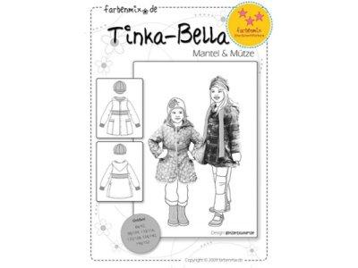 Schnittmuster TINKA-BELLA Mantel & Mütze Farbenmix