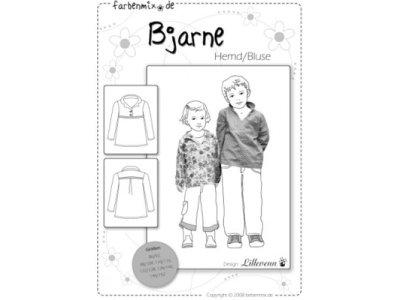 Schnittmuster BJARNE Bluse/Hemd Farbenmix