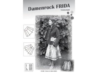 Schnittmuster Frida Damenrock Farbenmix