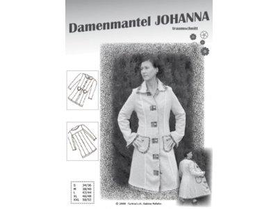Schnittmuster JOHANNA Damenmantel Farbenmix