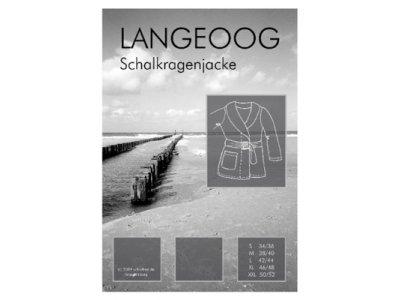 Schnittmuster LANGEOOG Schalkragenjacke Farbenmix