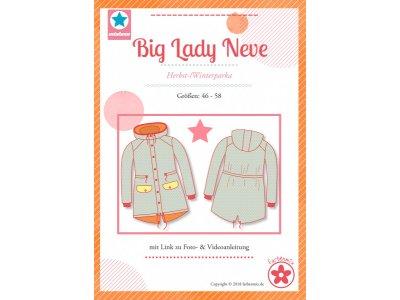 Papierschnittmuster Farbenmix  Big Lady Neve  Plus-Size Damenparka