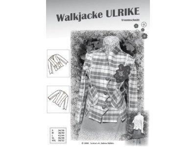Papierschnittmuster Farbenmix Walkjacke ULRIKE - Damen