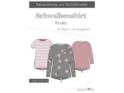 Papier-Schnittmuster Fadenkäfer - Schwalbenshirt - Kinder
