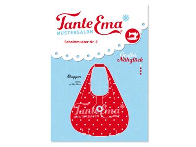 Papierschnittmuster Tante Ema - Shopper Handtasche