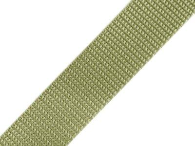 Gurtband 25 mm - uni khaki