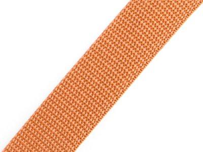 Gurtband 25 mm - uni braun