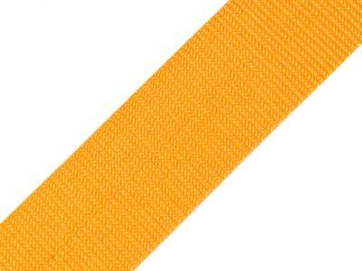 Gurtband 40 mm - uni gelb