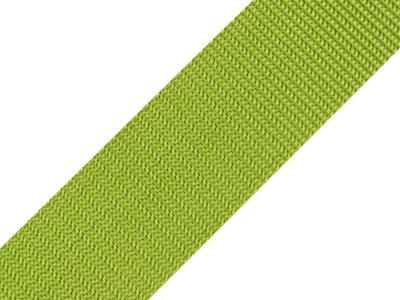 Gurtband 40 mm - uni grün
