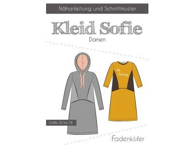 Papier-Schnittmuster Fadenkäfer - Kleid SOFIE - Damen