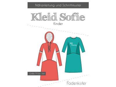 Papier-Schnittmuster Fadenkäfer - Kleid SOFIE - Kinder