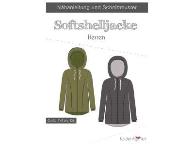 Papier-Schnittmuster Fadenkäfer - Softshelljacke - Herren