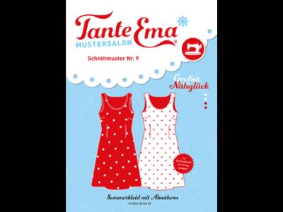 Papier-Schnittmuster Tante Ema - Sommerkleid mit Abnähern - Damen