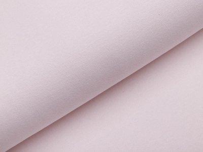Glattes Bündchen im Schlauch - uni helles beige