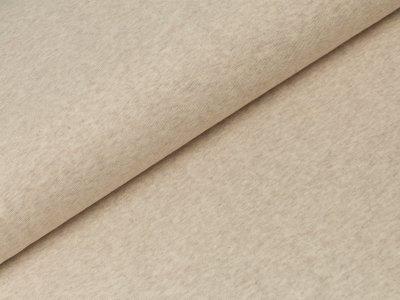 Glattes Bündchen im Schlauch Swafing 100cm breit - Heike-melange - uni beige
