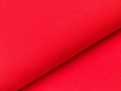 Glattes Bündchen im Schlauch Anni Swafing 100cm breit - rot