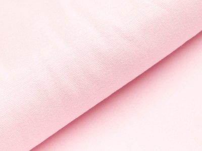Glattes Bündchen im Schlauch Heike Swafing 100cm breit - rosa